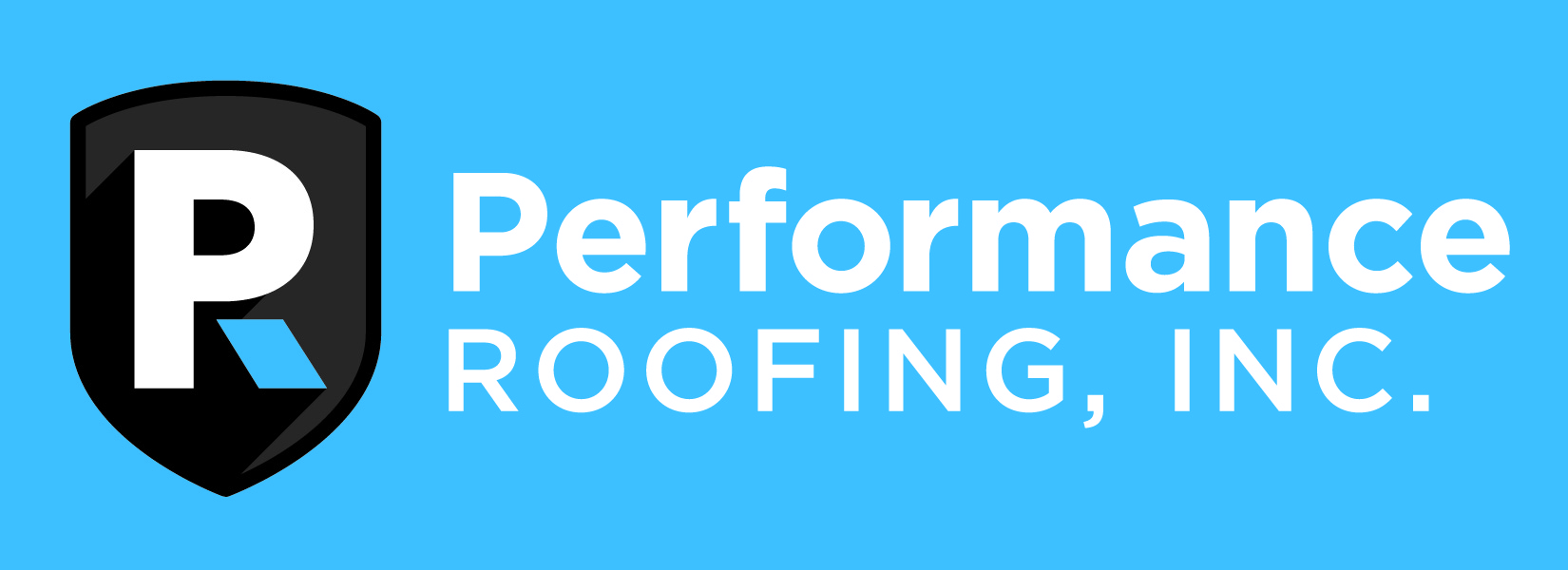 High Quality Performance Roofing Logo.
